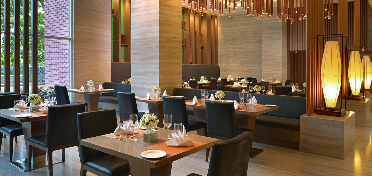Dining:      WelcomHotel Bengaluru  in Bangalore