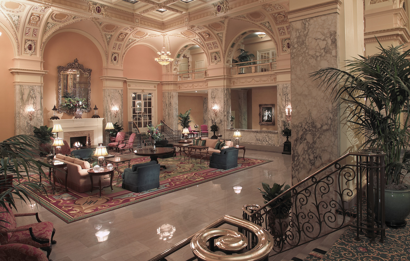 Special Offers:      The Hermitage Hotel  in Nashville