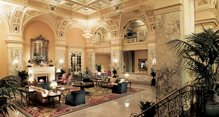 Dining at      The Hermitage Hotel  in Nashville
