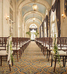 Weddings:      The Hermitage Hotel  in Nashville