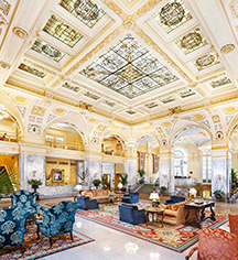 History:      The Hermitage Hotel  in Nashville