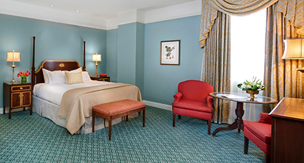 Accommodations:      The Hermitage Hotel  in Nashville