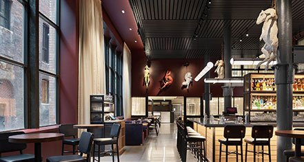 Dining at      21c Museum Hotel Nashville by MGallery  in Nashville