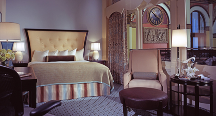 Accommodations:      Union Station Hotel Nashville, Autograph Collection  in Nashville