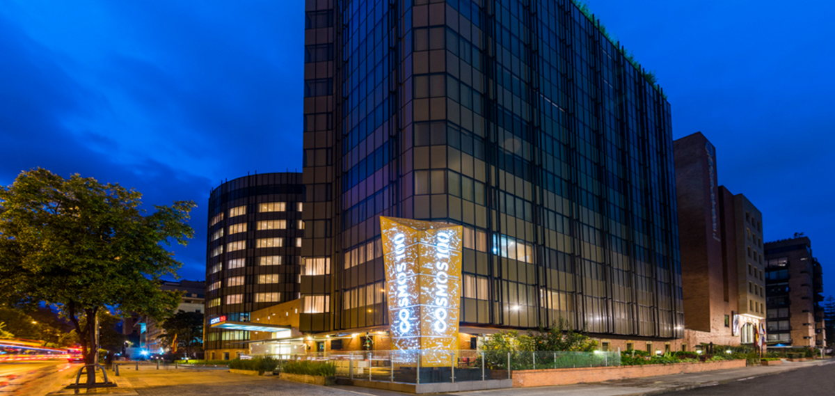 Customer Reviews:      Cosmos 100 Hotel & Conference Center  in Bogota