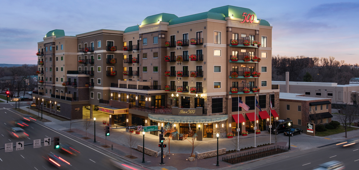 inn at 500 capitol boise idaho preferred hotels resorts