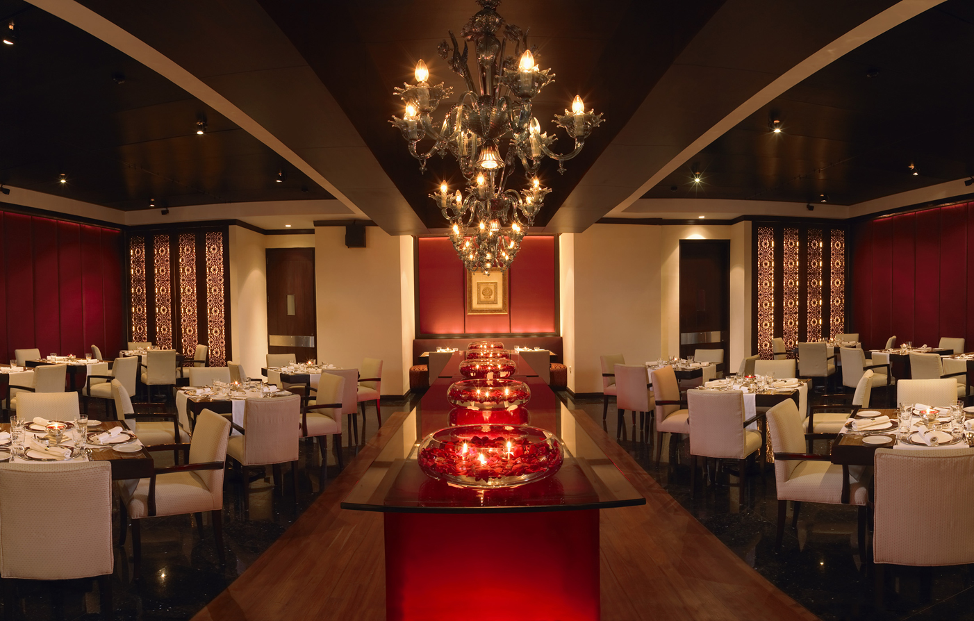 Dining:      The Leela Mumbai  in Mumbai