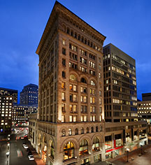 History:      Ames Boston Hotel, Curio Collection by Hilton  in Boston