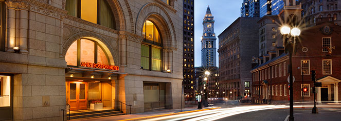 Local Attractions:      Ames Boston Hotel, Curio Collection by Hilton  in Boston