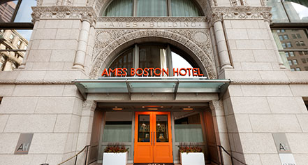Historic hotels of america for Historic hotels in boston