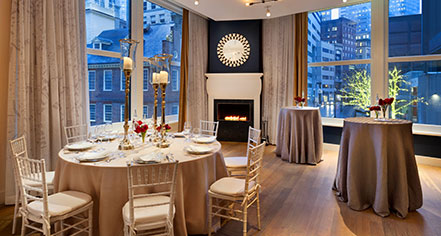 Weddings:      Ames Boston Hotel, Curio Collection by Hilton  in Boston