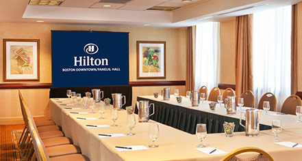Meetings at      Hilton Boston Downtown/Faneuil Hall  in Boston