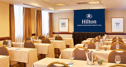 Venues & Services:      Hilton Boston Downtown/Faneuil Hall  in Boston