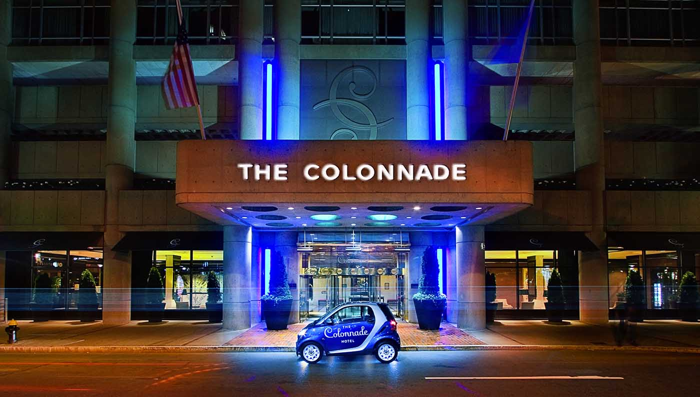 The Colonnade Hotel, Boston Massachusetts, Entrance