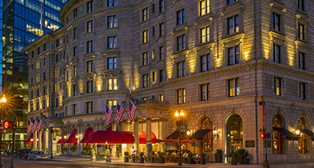 Weddings:      Fairmont Copley Plaza  in Boston