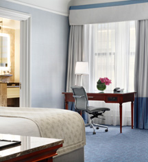 Accommodations:      Fairmont Copley Plaza  in Boston