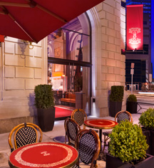Dining at      Fairmont Copley Plaza  in Boston
