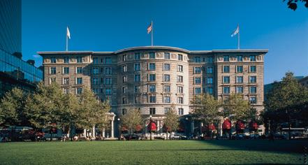History:      Fairmont Copley Plaza  in Boston