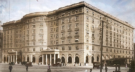 History:      Fairmont Copley Plaza  in Boston