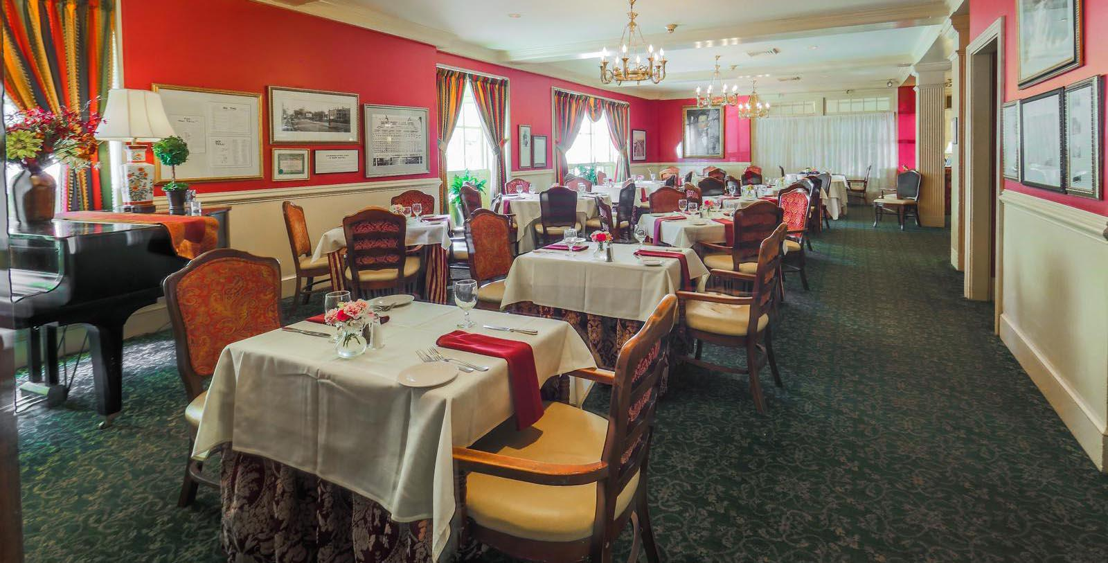 Image of Turner's Seafood restaurant Hawthorne Hotel, 1925, Member of Historic Hotels of America, in Salem, Massachusetts, Taste
