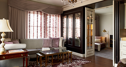 Accommodations:      The Lenox  in Boston