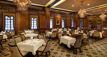 Dining at      Omni Parker House, Boston  in Boston