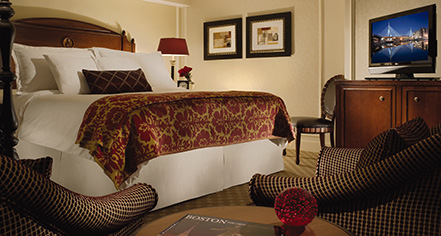Accommodations:      Omni Parker House, Boston  in Boston