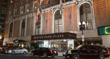 Boston Park Plaza in Boston
