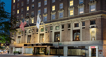 Local Attractions:      Boston Park Plaza  in Boston