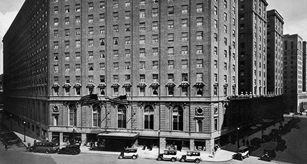Hotel history in boston massachusetts boston park plaza for Historic hotels in boston