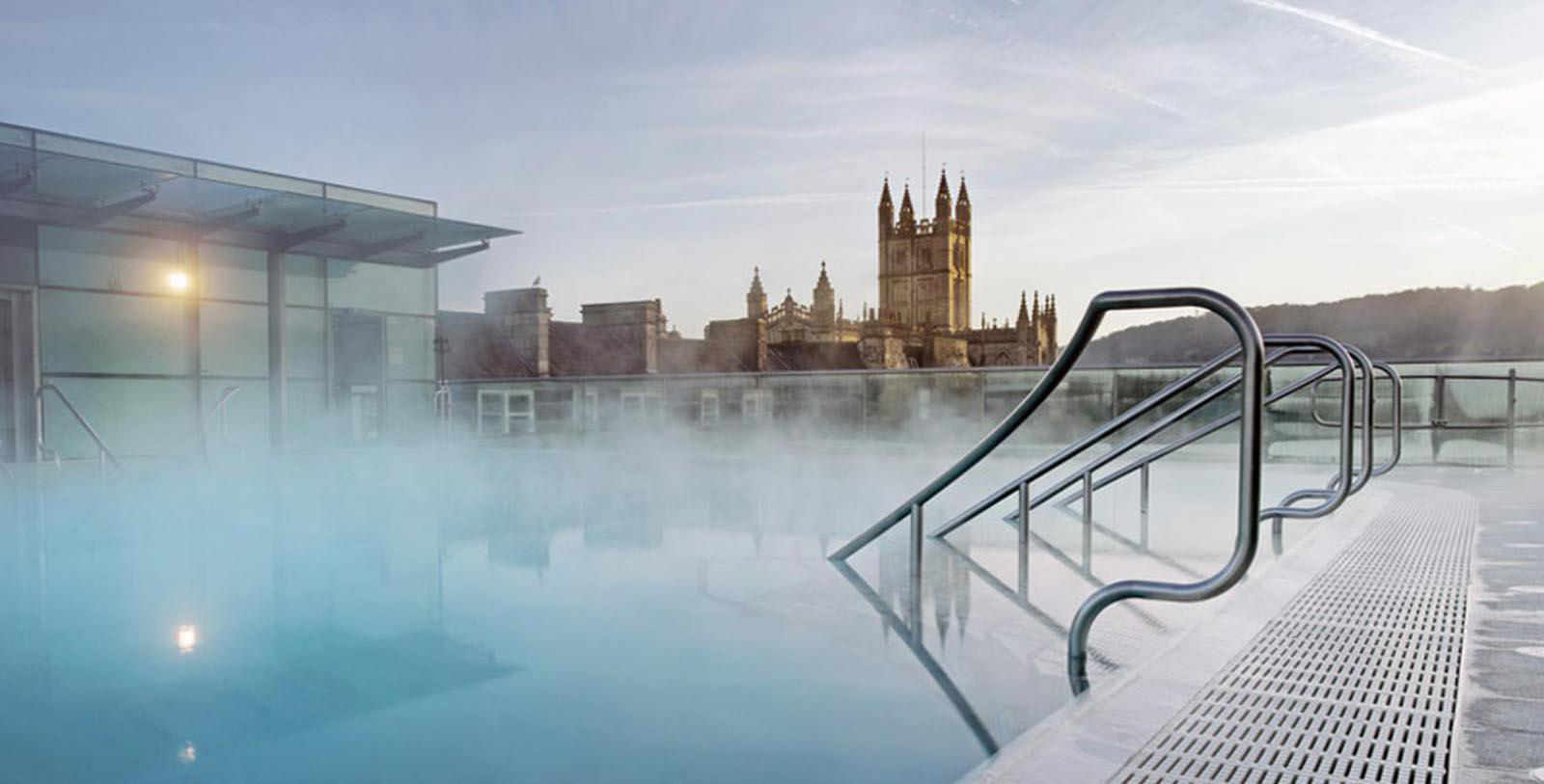 Image of Heated Pool Francis Hotel Bath - MGallery by Sofitel, 1736, Member of Historic Hotels Worldwide, in Bath, England, Overview