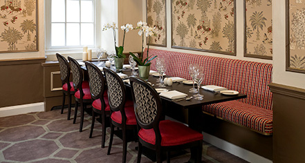 Dining at      Francis Hotel Bath - MGallery by Sofitel  in Bath