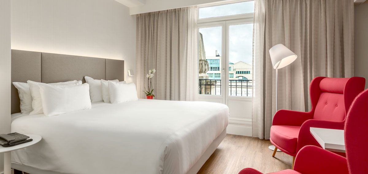 Accommodations:      NH Collection Brussels Centre  in Brussels