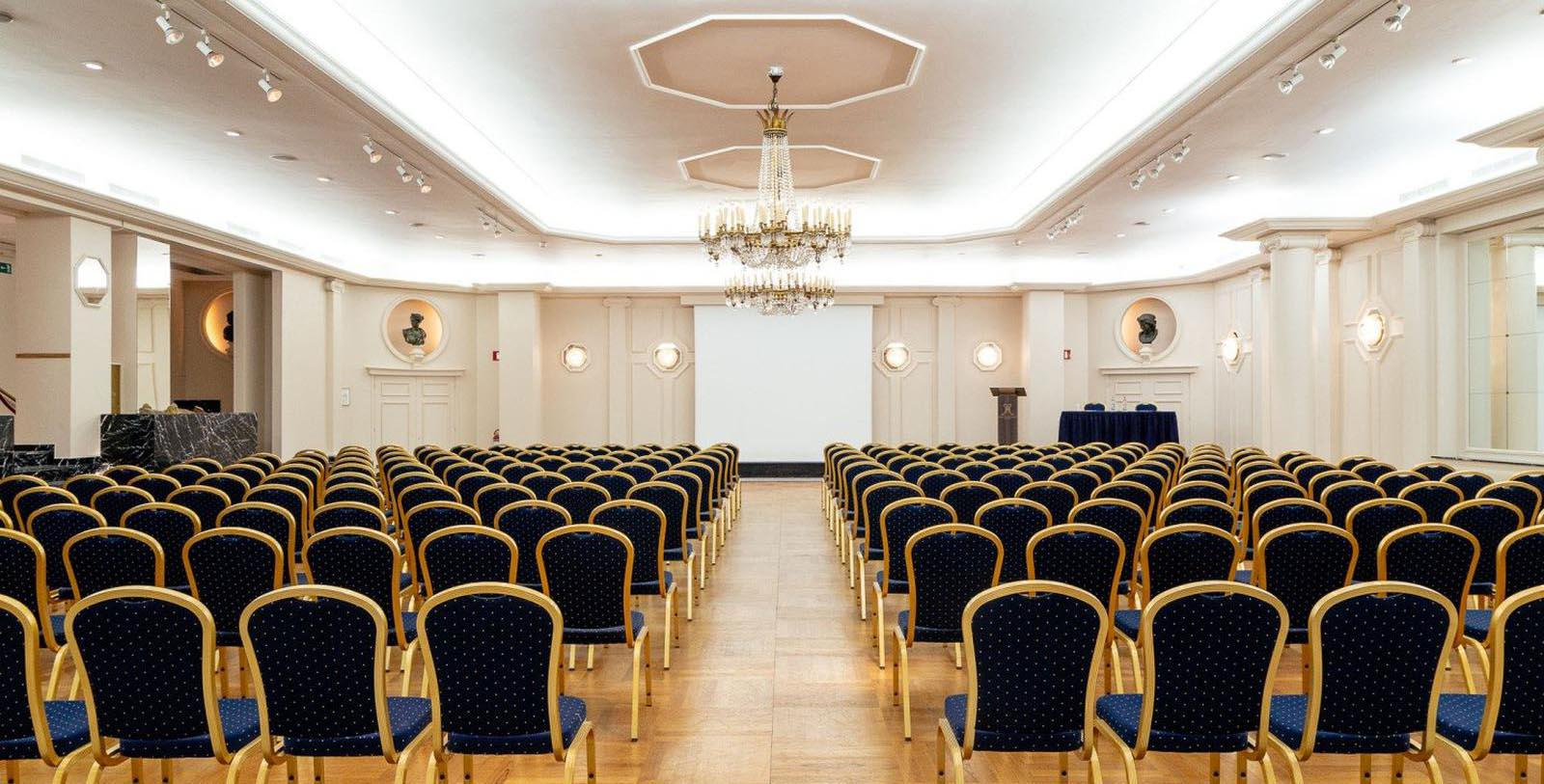 Image of Ballroom Theatre, Hotel Metropole, Brussels, Belgium, 1895, Member of Historic Hotels Worldwide, Experience