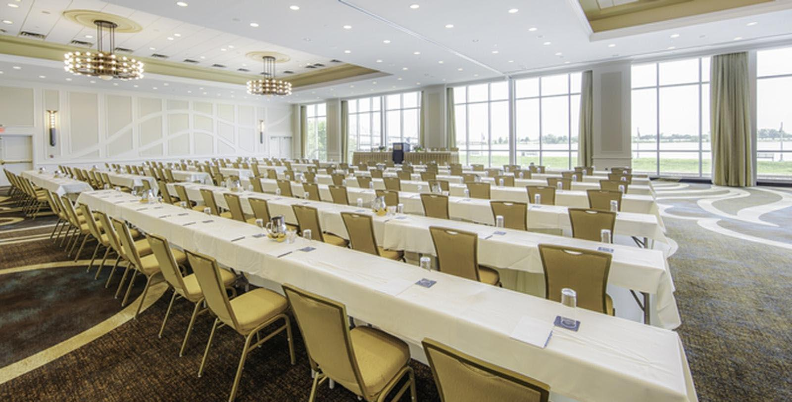 Image of classroom meeting set up Hilton Baton Rouge Capitol Center, 1927, Member of Historic Hotels of America, in Baton Rouge, Louisiana, Experience