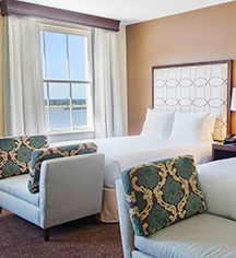 Accommodations:      Hilton Baton Rouge Capitol Center  in Baton Rouge