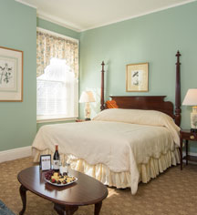Accommodations:      The Middlebury Inn  in Middlebury