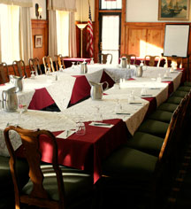 Meetings at      The Middlebury Inn  in Middlebury