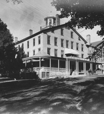 History:      The Middlebury Inn  in Middlebury