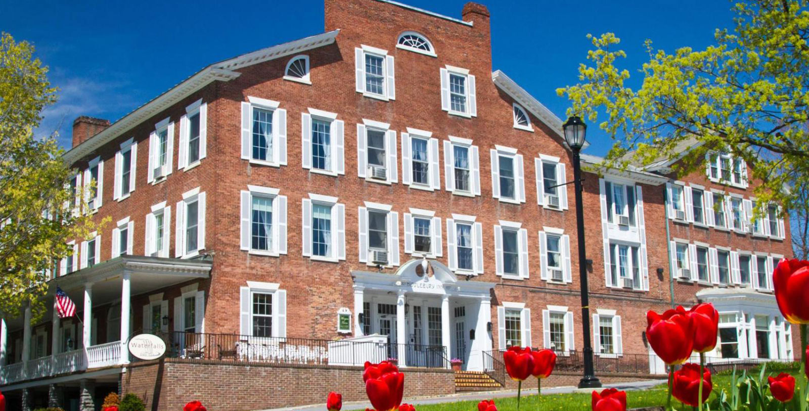 Image of Hotel Exterior The Middlebury Inn, 1827, Member of Historic Hotels of America, in Middlebury, Vermont, Hot Deals