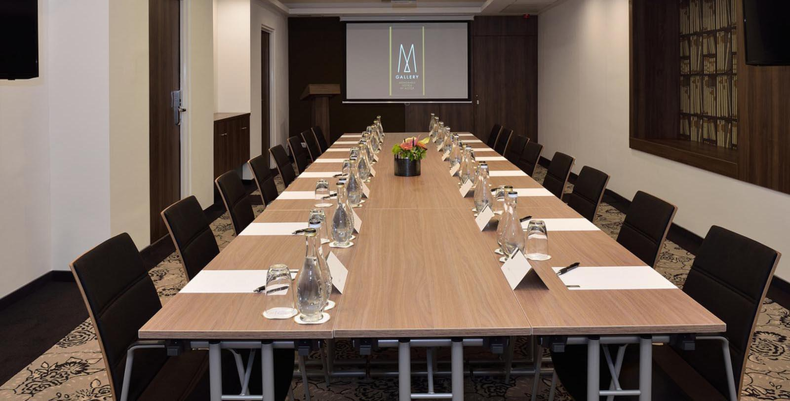Image of Boardroom, Hotel Nemzeti Budapest - MGallery by Sofitel, Budapest, Hungary, 1896, Member of Historic Hotels Worldwide, Special Occasions