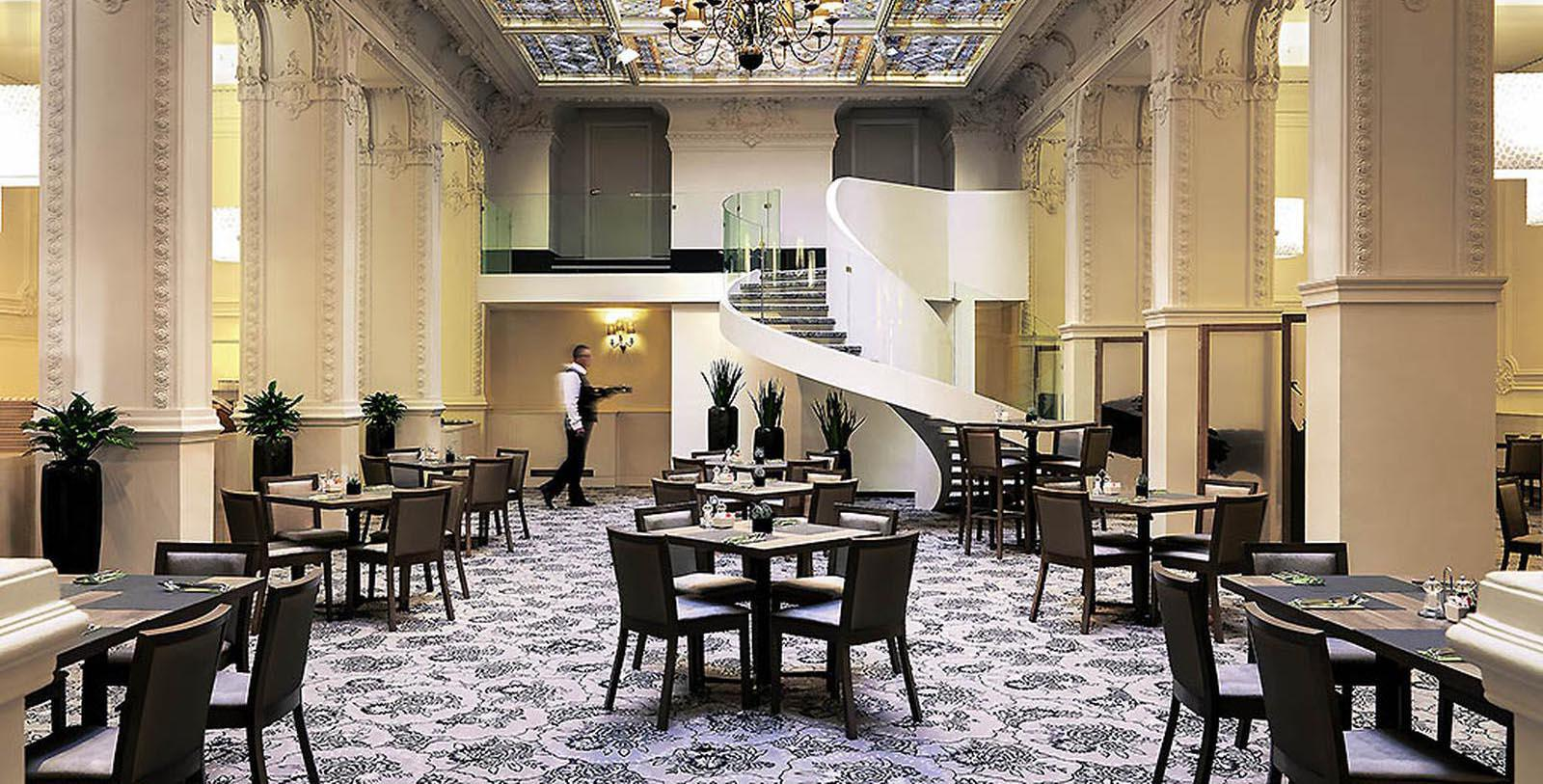 Image of Gallery Cafe, Hotel Nemzeti Budapest - MGallery by Sofitel, Budapest, Hungary, 1896, Member of Historic Hotels Worldwide, Taste