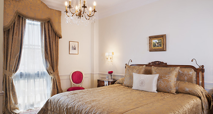 Accommodations:      Alvear Palace Hotel  in Buenos Aires
