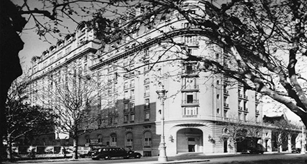 History:      Alvear Palace Hotel  in Buenos Aires