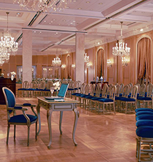 Meetings at      Alvear Palace Hotel  in Buenos Aires
