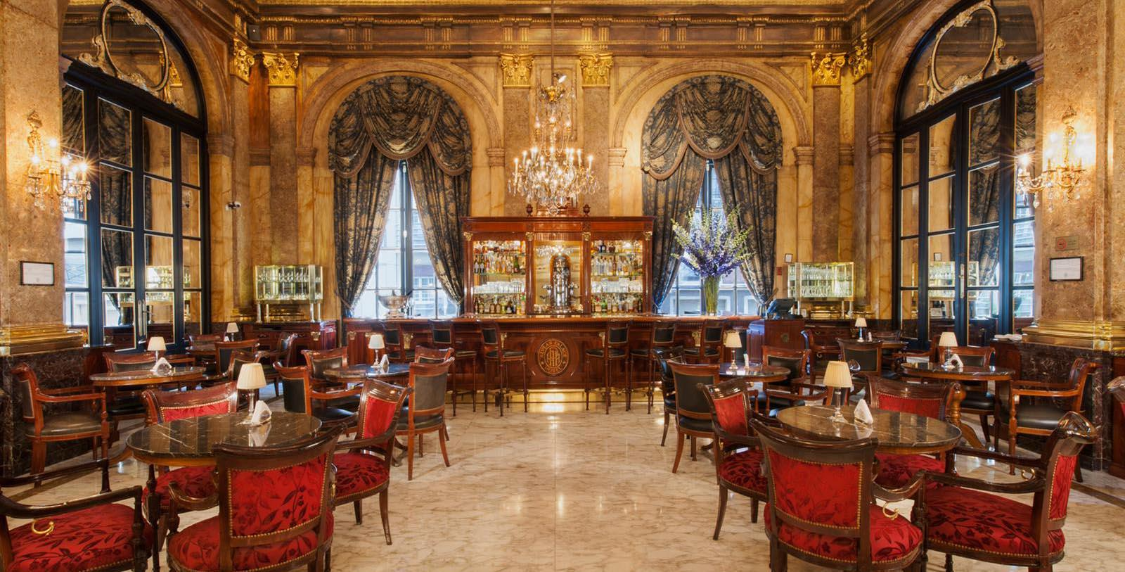 Image of restaurant lounge at Alvear Palace Hotel, 1932, Member of Historic Hotels Worldwide, in Buenos Aires, Argentina, Discover