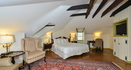 Accommodations:      Admiral Fell Inn  in Baltimore