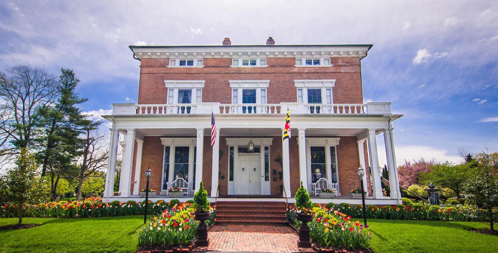 Image of Hotel Exterior at Antrim 1844, Member of Historic Hotels of America, in Taneytown, Maryland, Special Offers, Discounted Rates, Families, Romantic Escape, Honeymoons, Anniversaries, Reunions