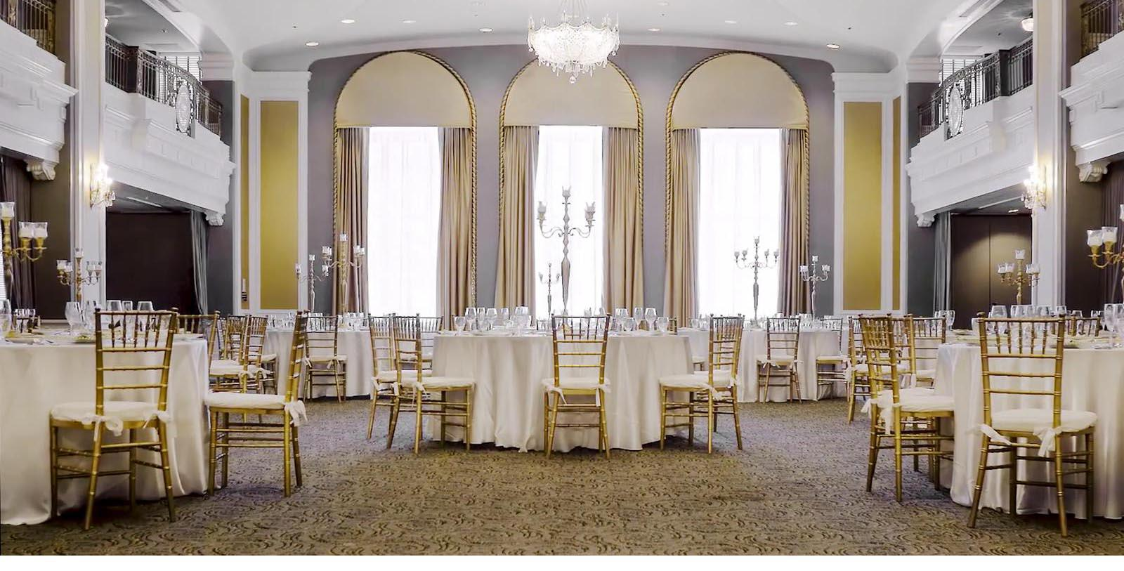 Image of Ballroom, Lord Baltimore Hotel in Baltimore, Maryland, 1928, Member of Historic Hotels of America, Experience