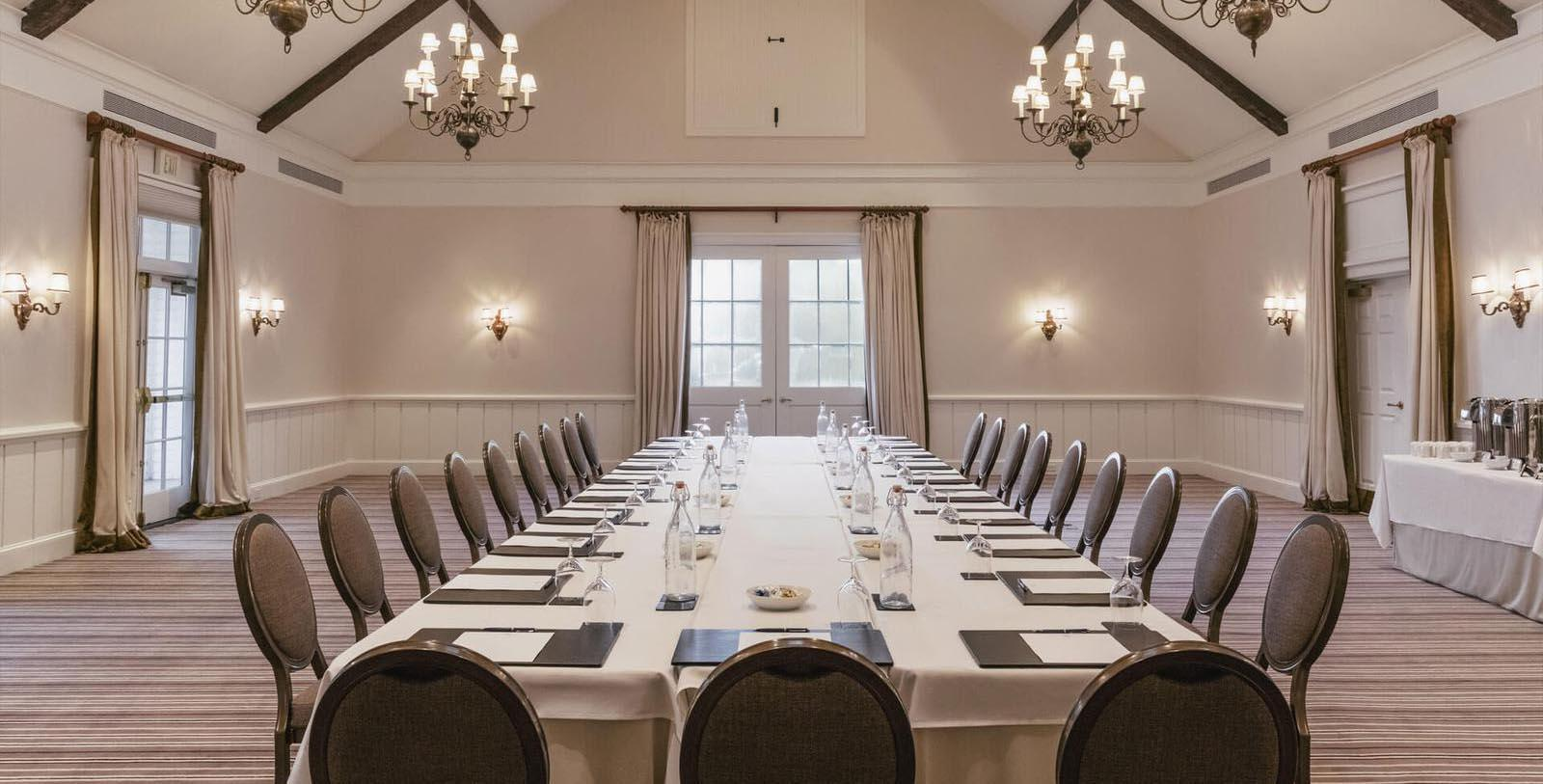 Image of Meeting Room, Inn at Perry Cabin in St. Michaels, Maryland, 1816, Member of Historic Hotels of America, Special Occasions